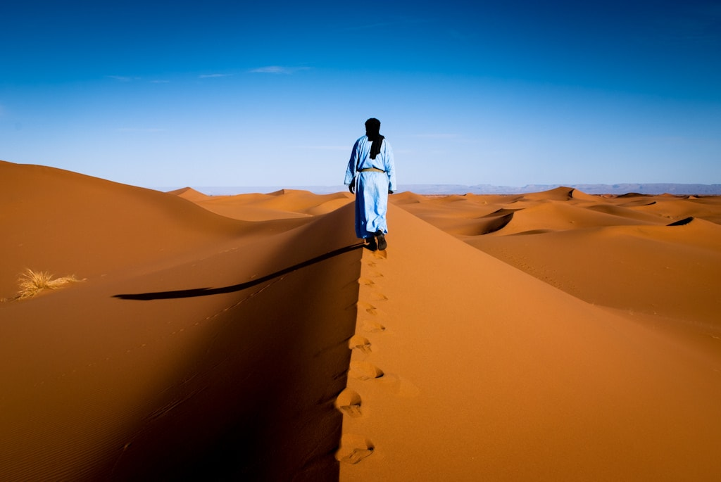 Berber in the Sahara