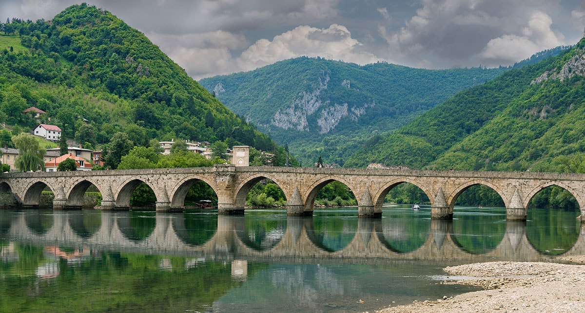 The Ottoman Mehmed Pasa Sokolovic Bridge in Visegrad | © 369_photo/Shutterstock