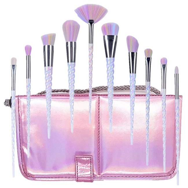 Ksun Pink Unicorn Brush Set | Courtesy of Amazon
