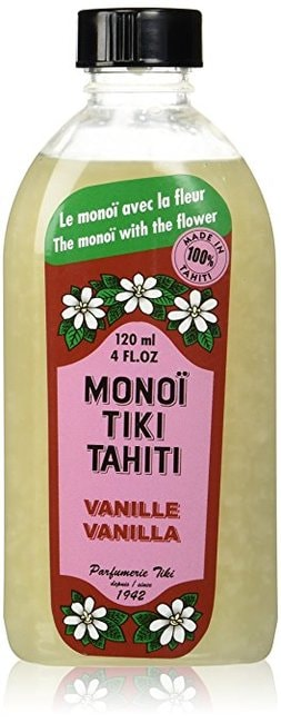 Monoi Tiare Cosmetics Vanilla Coconut Oil | Courtesy of Amazon