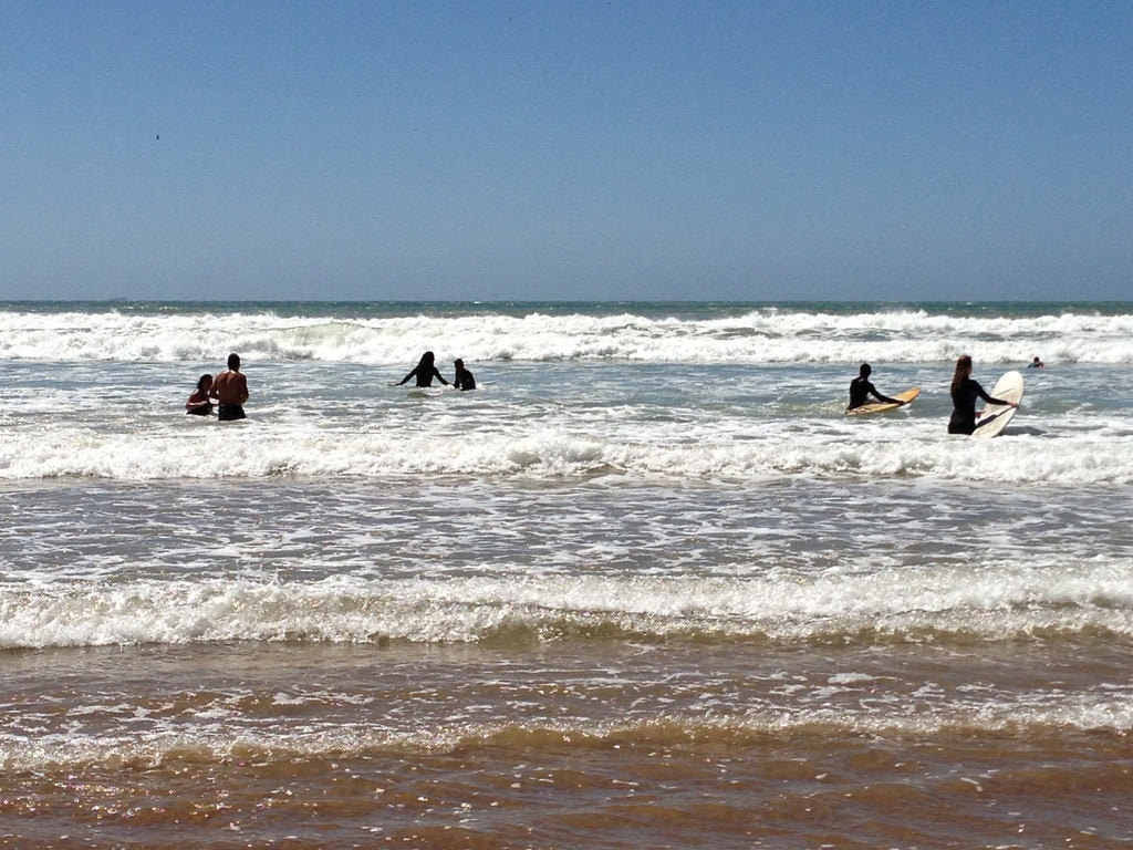 Taghazout surfers