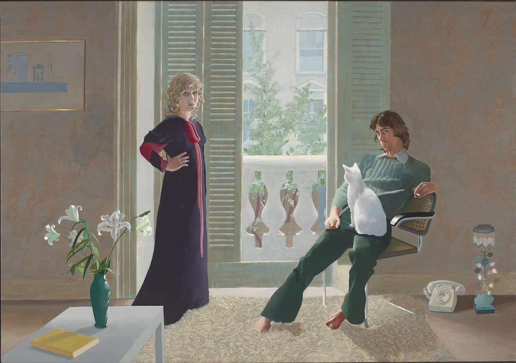 David Hockney, 'Mr. and Mrs. Clark and Percy', 1970–1971 | © David Hockney / Tate, London 2017
