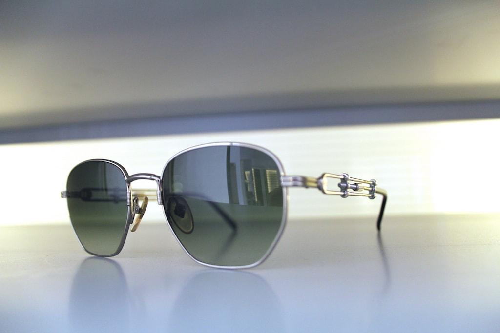 '90s Jean Paul Gaultier with adjustable sides   ©General Eyewear
