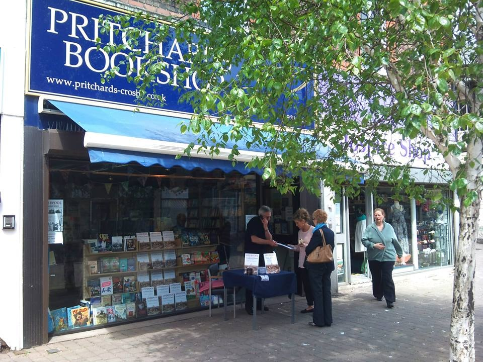 Pritchards bookshop in Liverpool, England