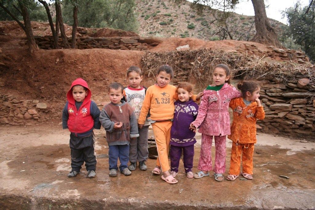 Moroccan children