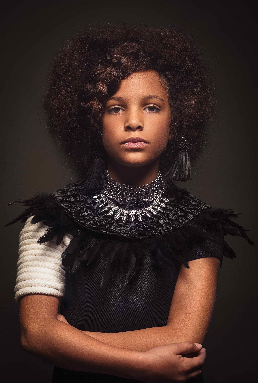 Baroque-Inspired Portrait Series Celebrates Black Girls ...