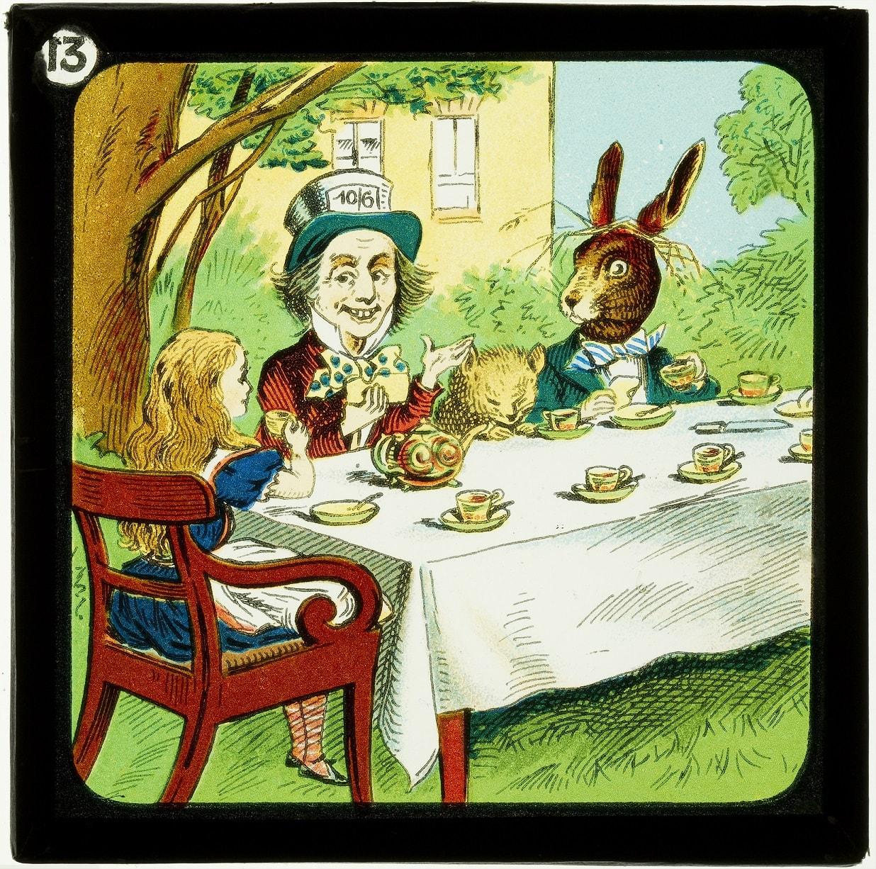 Alice in Wonderland magic lantern slide_1905-08_W Butcher and Sons_3