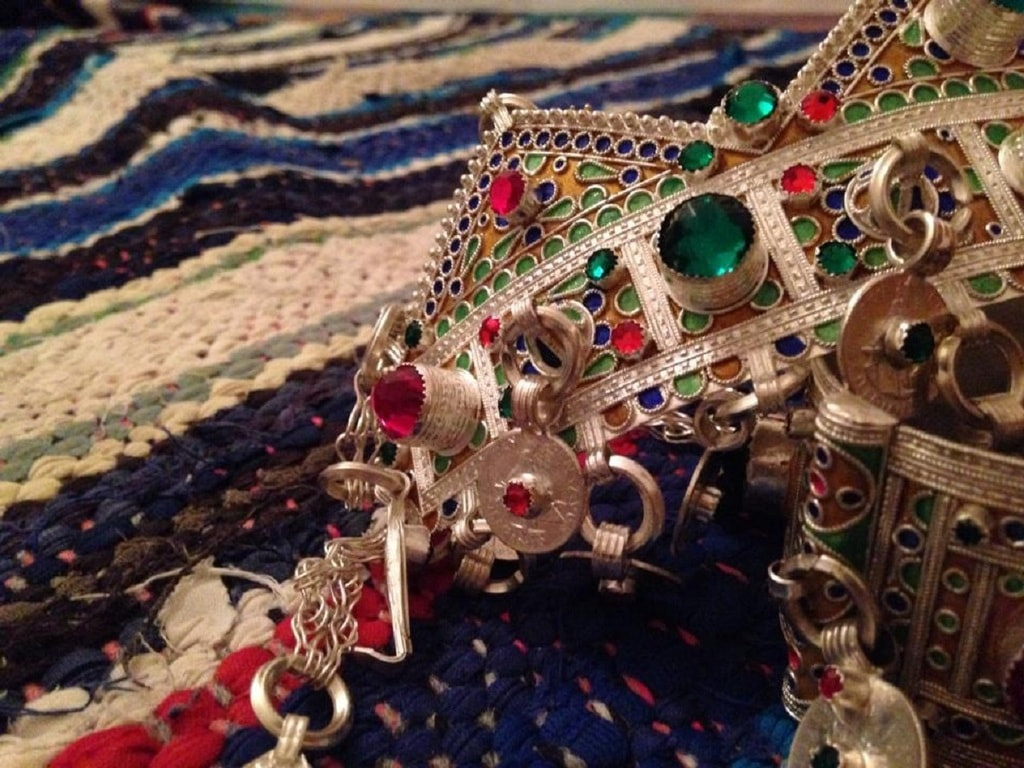 Moroccan jewellery