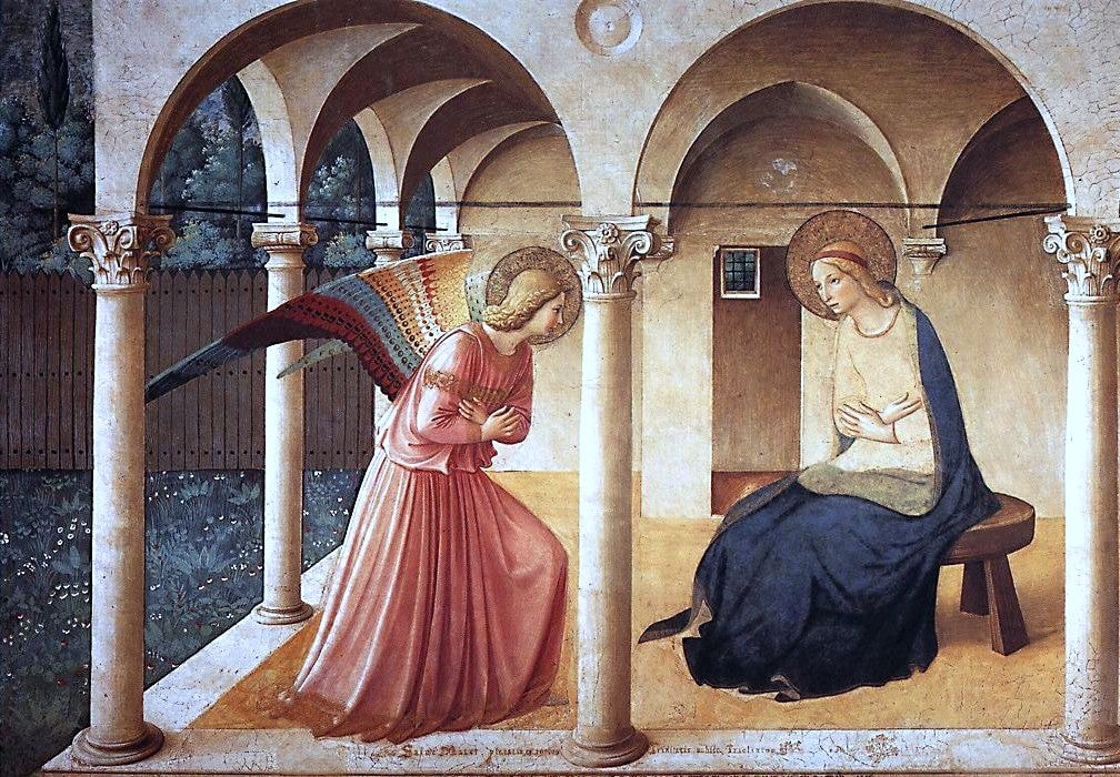 Fra Angelico, 'Annunciation', 1437–46 | carulmare / Flickr