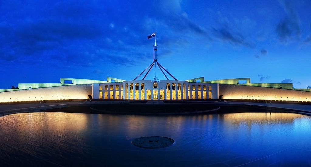 Australian Parliament House | © JJ Harrison:Wikimedia Commons