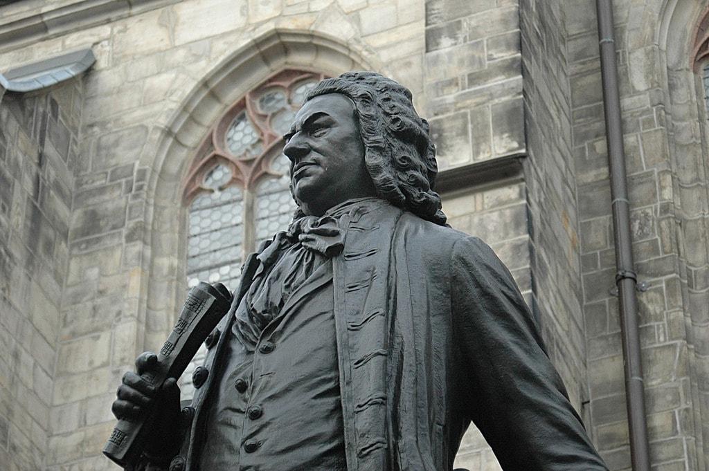 Bach monument Leipzig