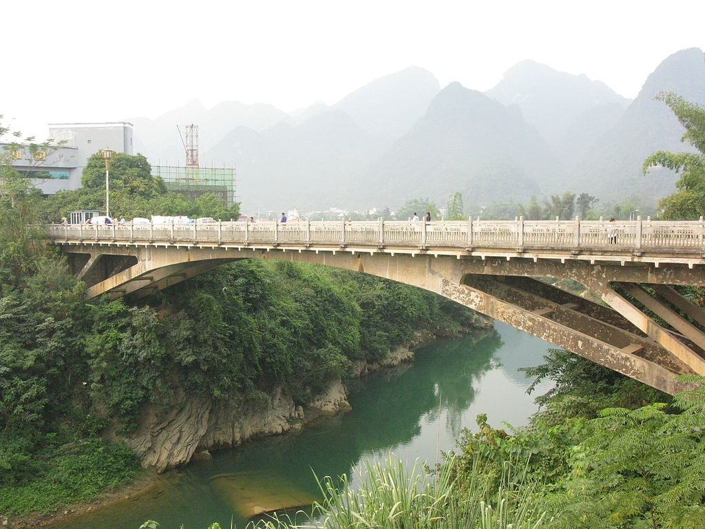Bridge between Vietnam and China | © Phó Nháy/WikiCommons