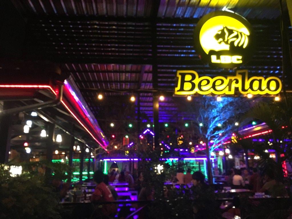 Sinjuang Beer Garden, Pakse   © Regina Beach/Culture Trip