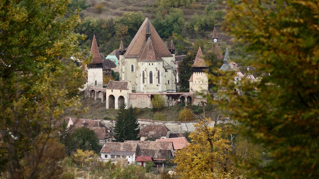Fortified church in Biertan, Transylvania