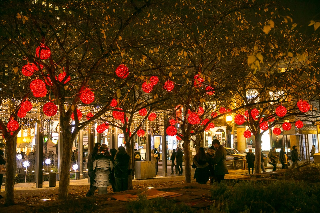 Christmas Lights | Courtesy of Bloor-Yorkville Holiday Magic