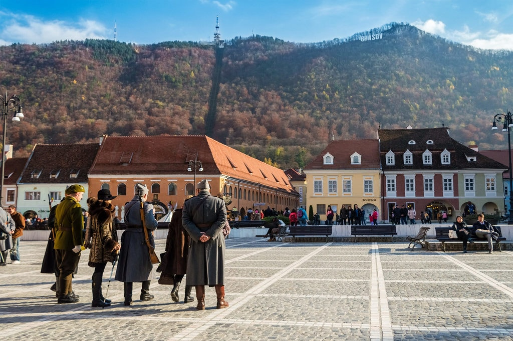 Brasov from the Council Square