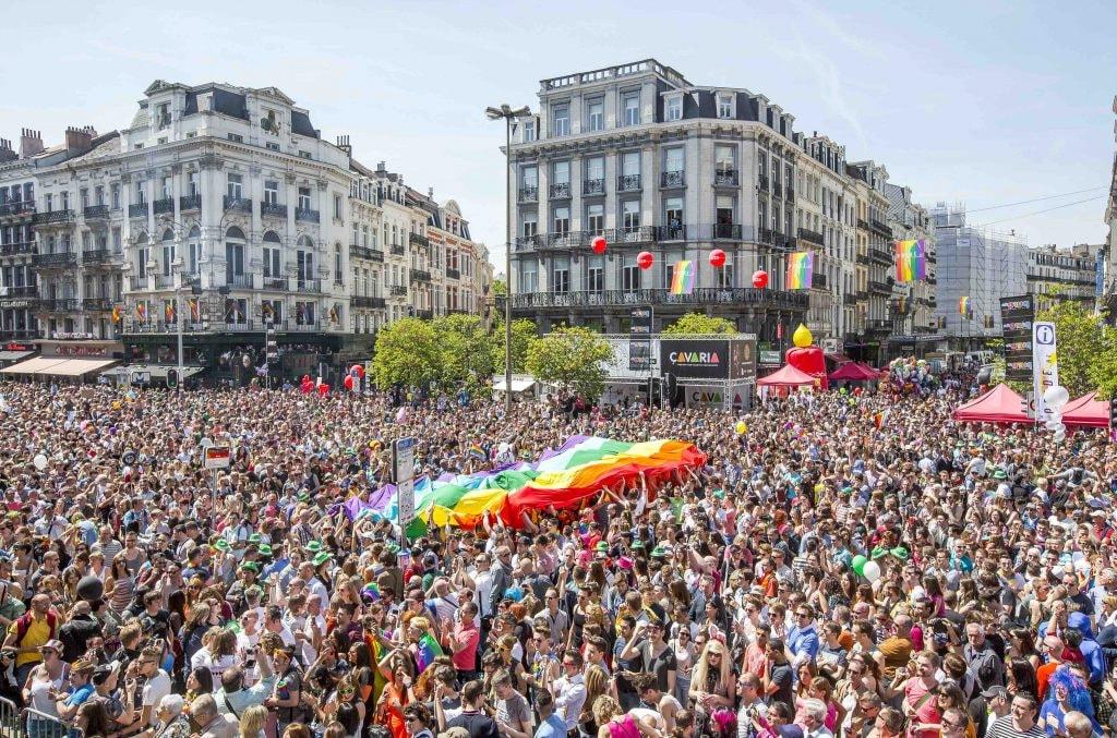 Brussels Pride | courtesy of visit.brussels