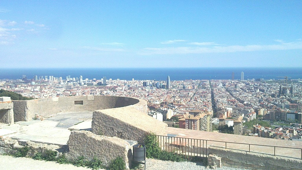 Bunkers del Carmel, Barcelona | © Toniher:WikiCommons
