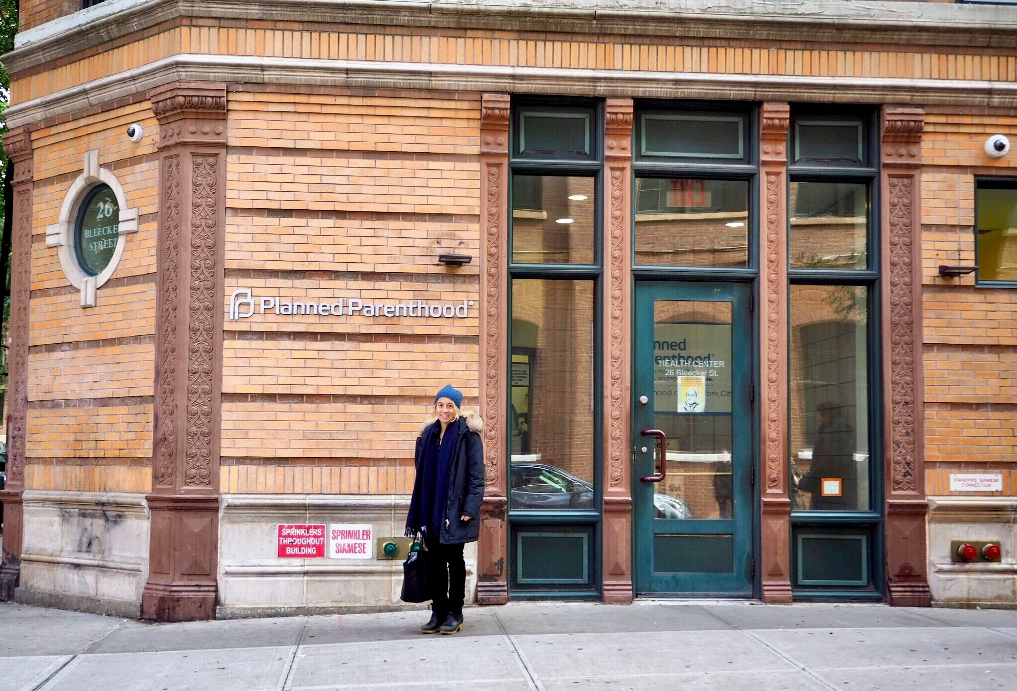 Amy Richards in front of Planned Parenthood in NYC | © Culture Trip / Nikki Vargas
