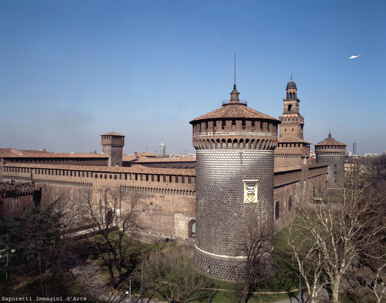 Castello Sforzesco, Milan | © Comune di Milano, all rights reserved