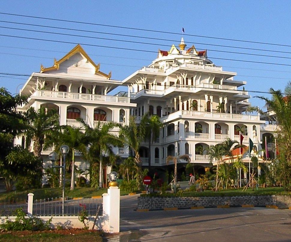 Champasak Palace Hotel | © Adam Carr/WikiCommons