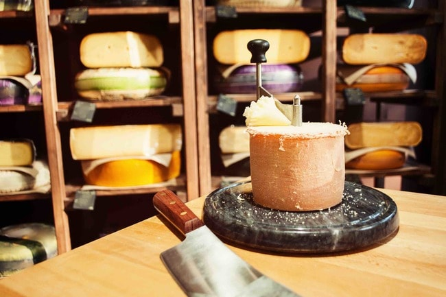Christmas cheese | Courtesy of the Giant Cheese Board