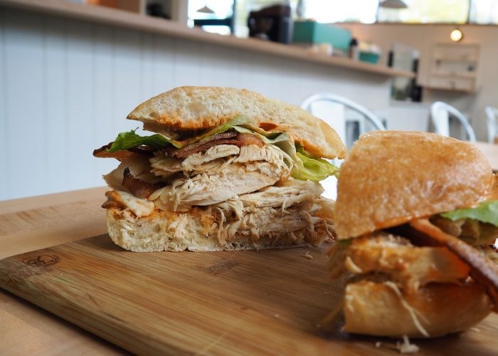 Chicken & Bacon Sandwich | Courtesy of Acadia