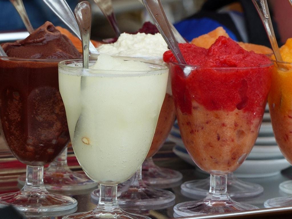 Colors Food Fruit Eat Ice Cream Sweet Granita