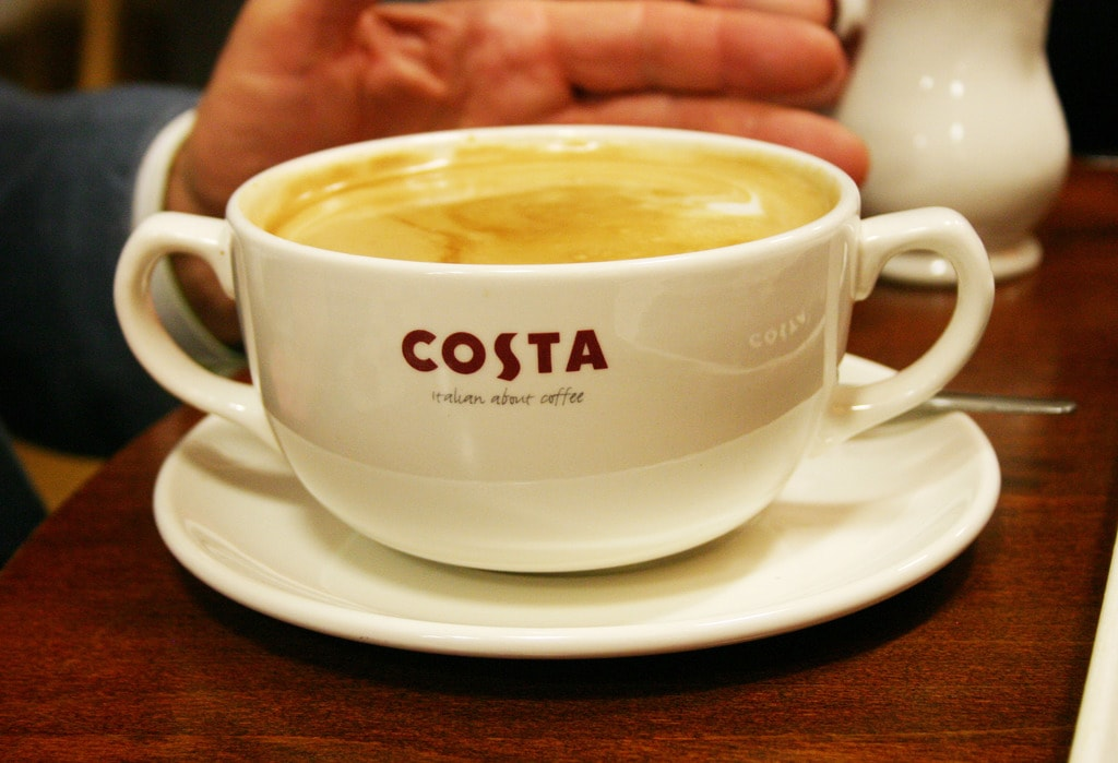 London, Brent Cross, Costa Coffee
