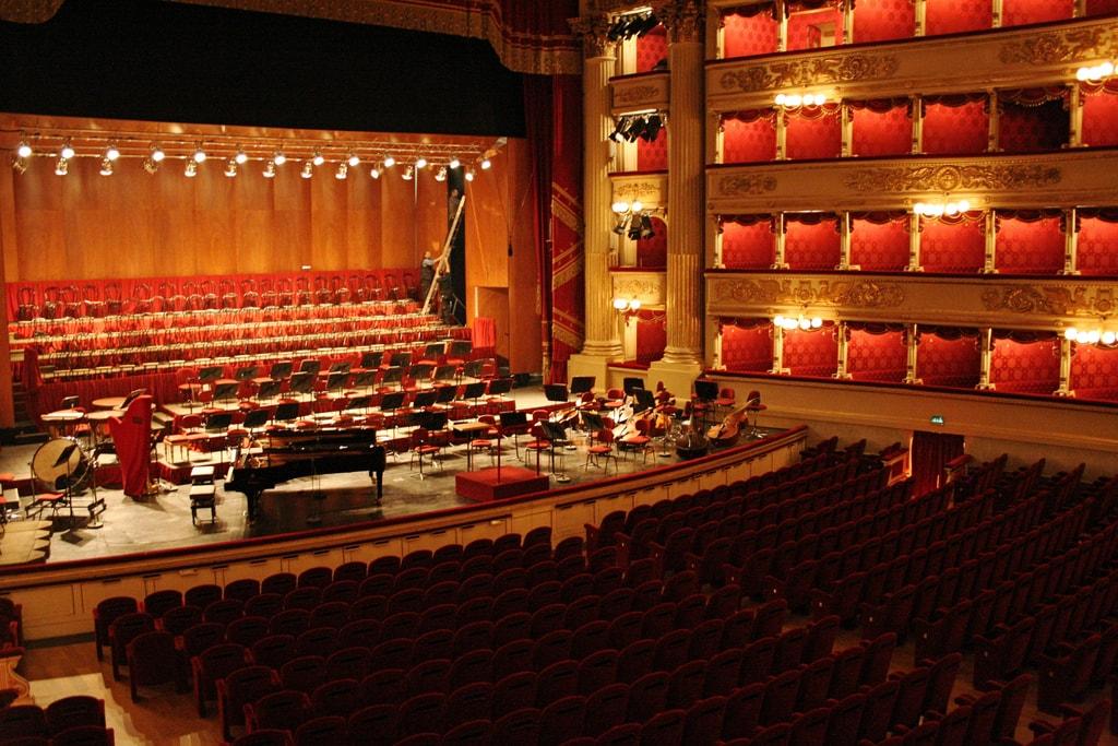 Inside Teatro alla Scala, Milan | © Alessio Bragadini/Flickr