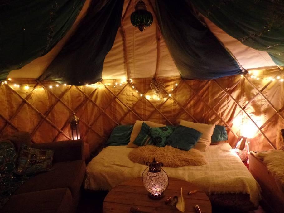Cosy yurt in Kings Heath