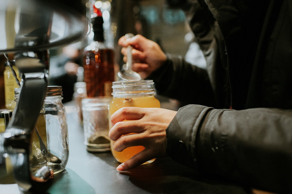 Festive Apple Cider | Courtesy of Evergreen Brick Works