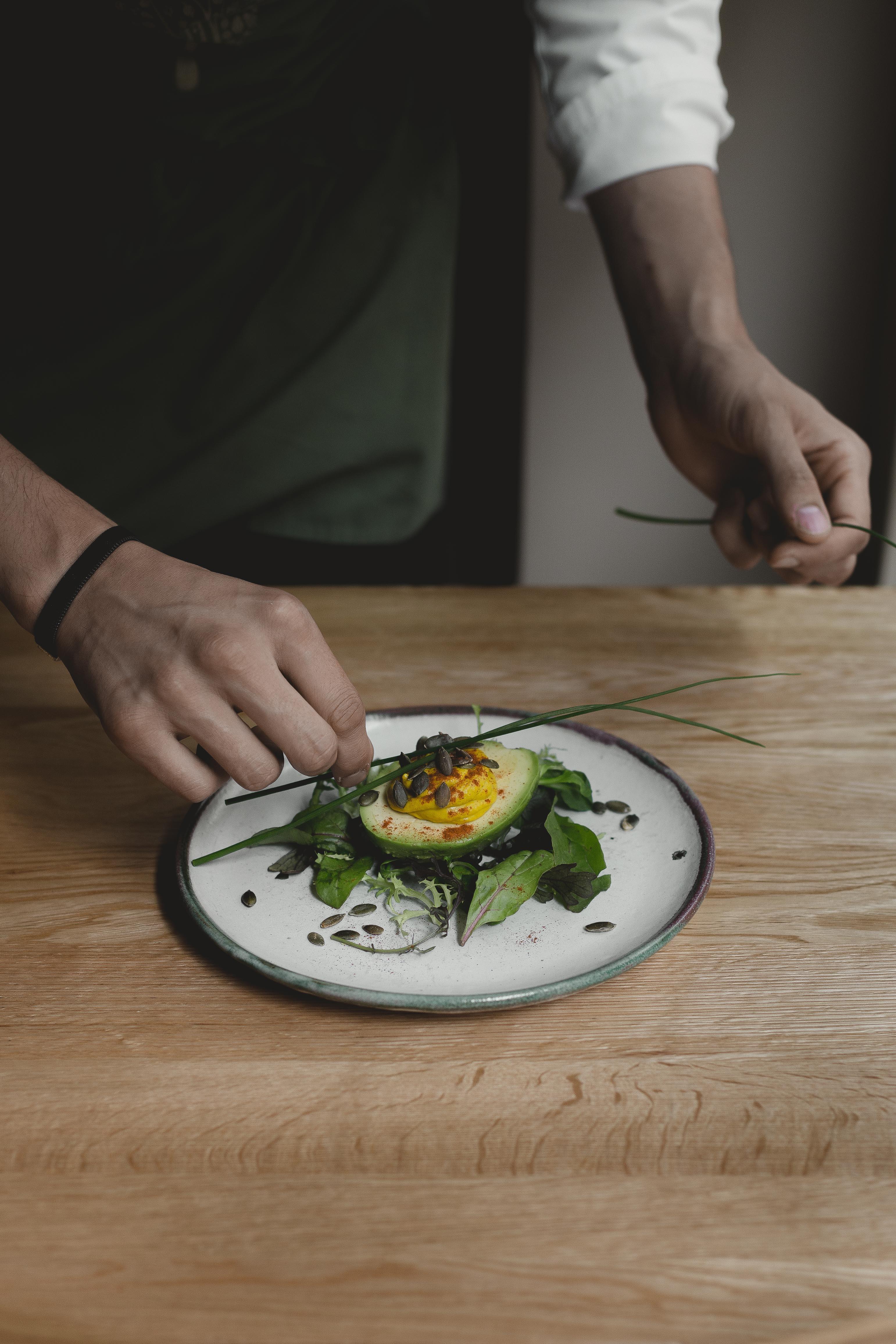 Egg style avocado