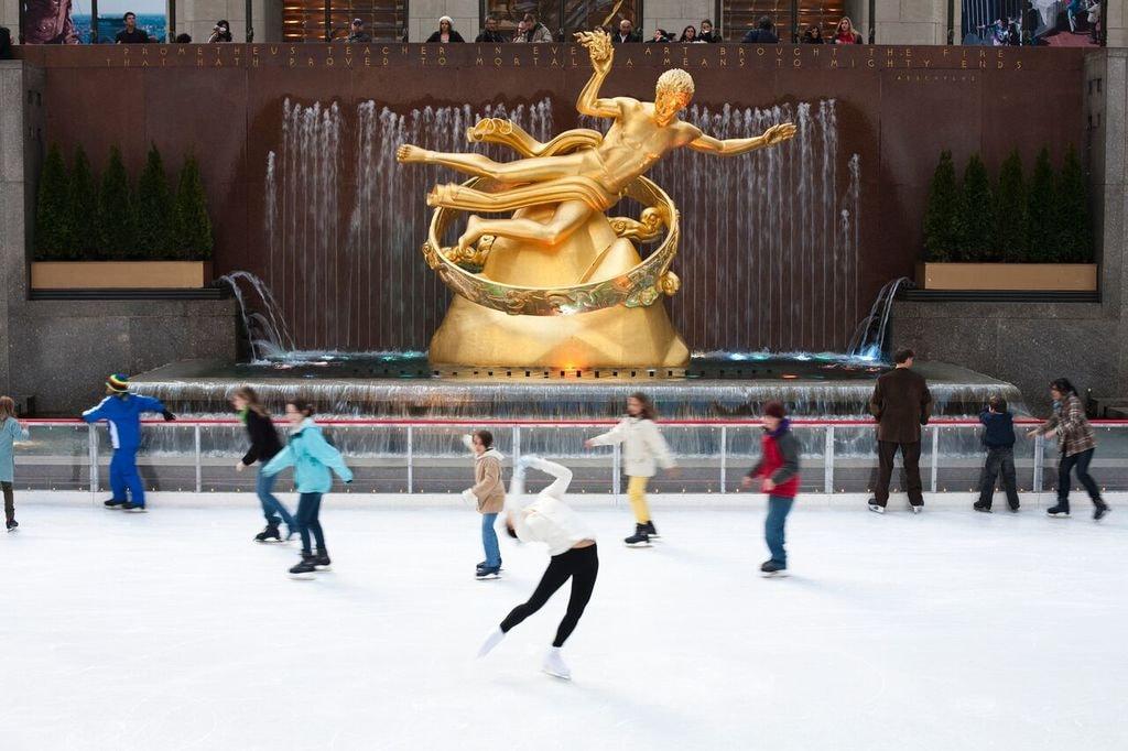 Figure Skater.The Rink at Rockefeller Center – Courtesy of Patina Restaurant Group_preview