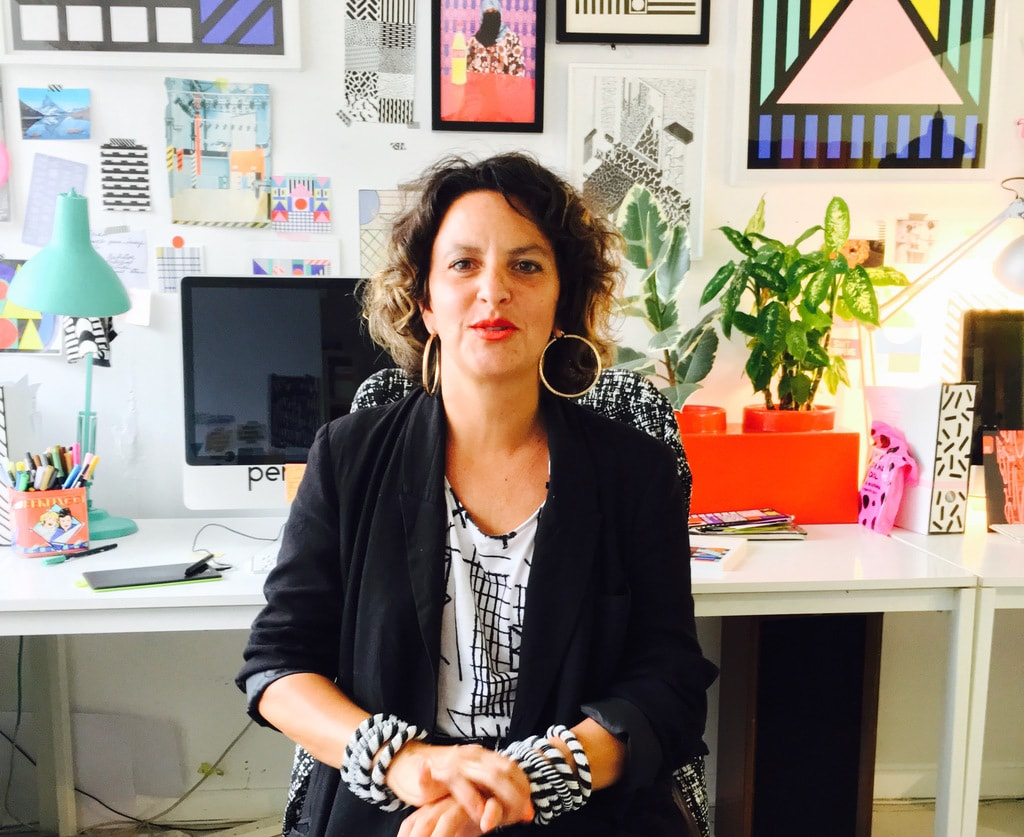 Portrait of Camille Walala in her East London studio | © Culture Trip / Freire Barnes