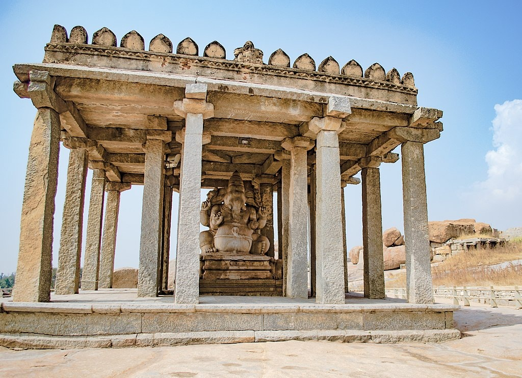 Ganesha temple Hampi