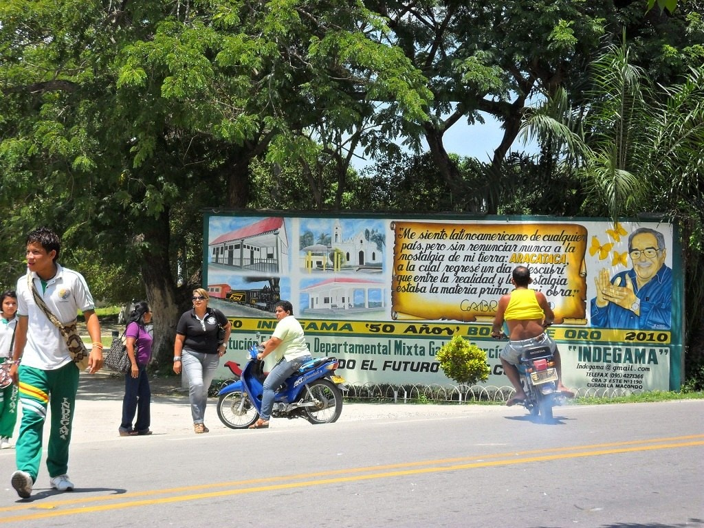 Mural to Garcia Marquez, Aracataca, Colombia | © Tim Buenía/WikiCommons