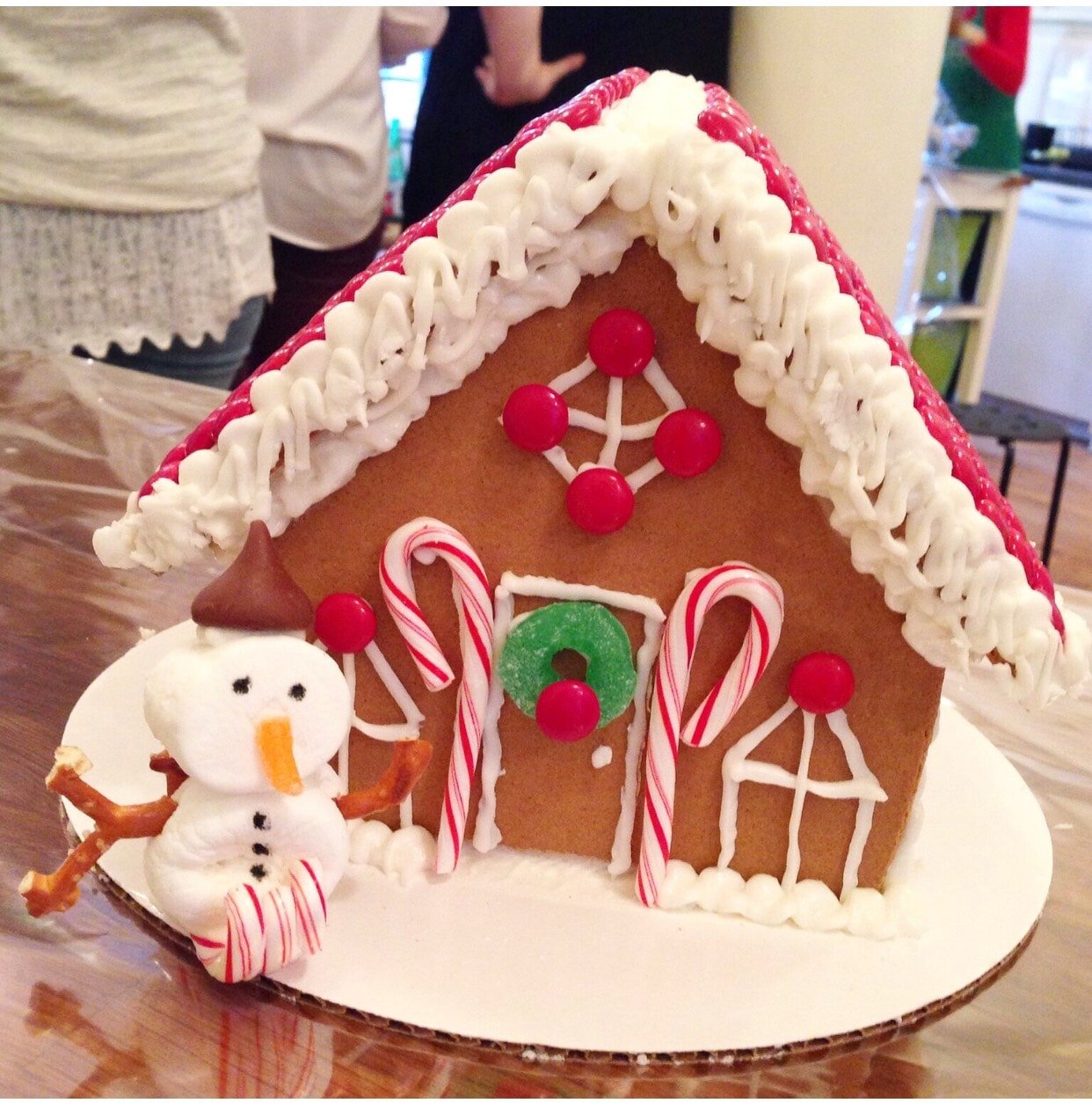 Gingerbread House Courtesy of Taste Buds Kitchen