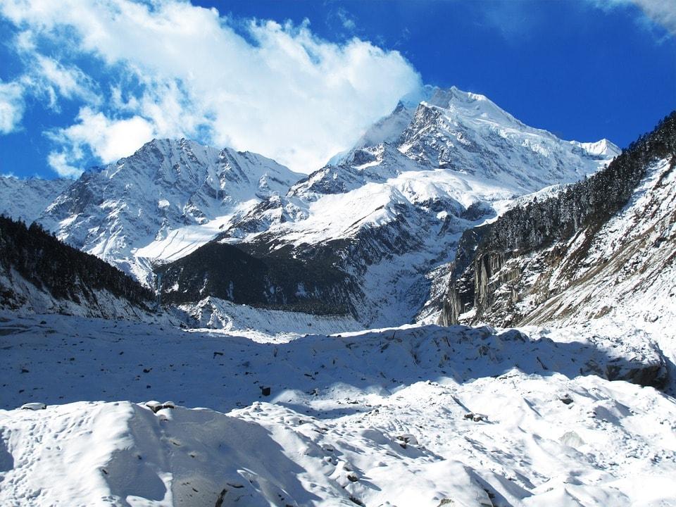 Gongga Mountain Hailuogou Glacier Luding Sichuan