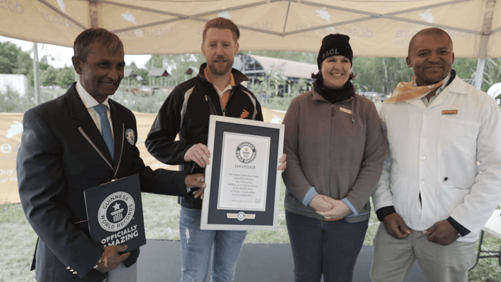 Guiness World Record South Africa_award