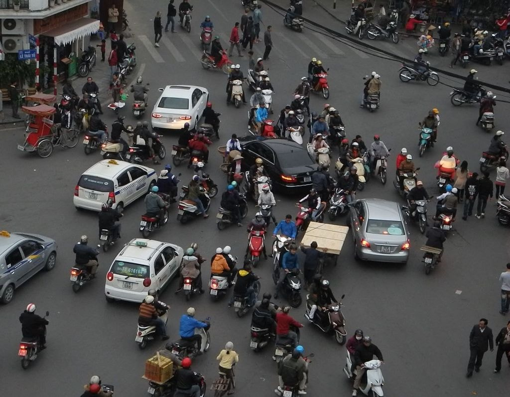 It's madness on the streets in Vietnam | © franzfoto/WikiCommons