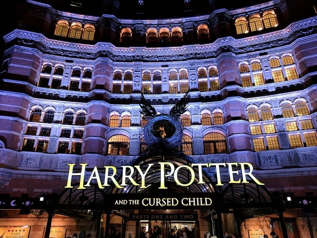 Child Harry Theatre Potter London Cursed Palace