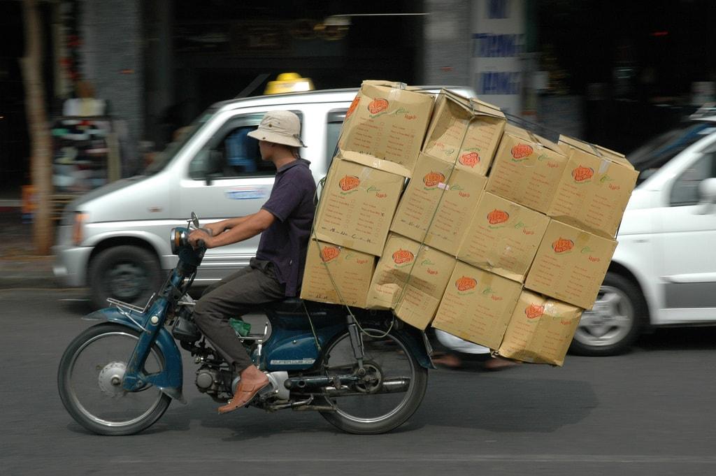 Ho Chi Minh City Motorbike   © Graeme Newcomb/ Flickr