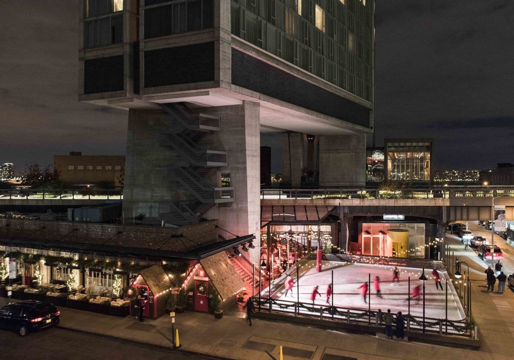 The Rink at The Standard, High Line, credit: Chris Leaman