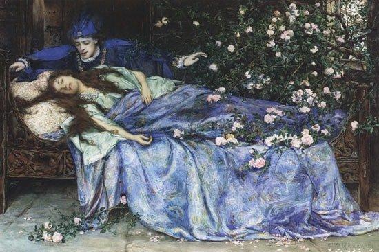 Henry Meynell Rheam - Sleeping Beauty 1899 | WikiCommons