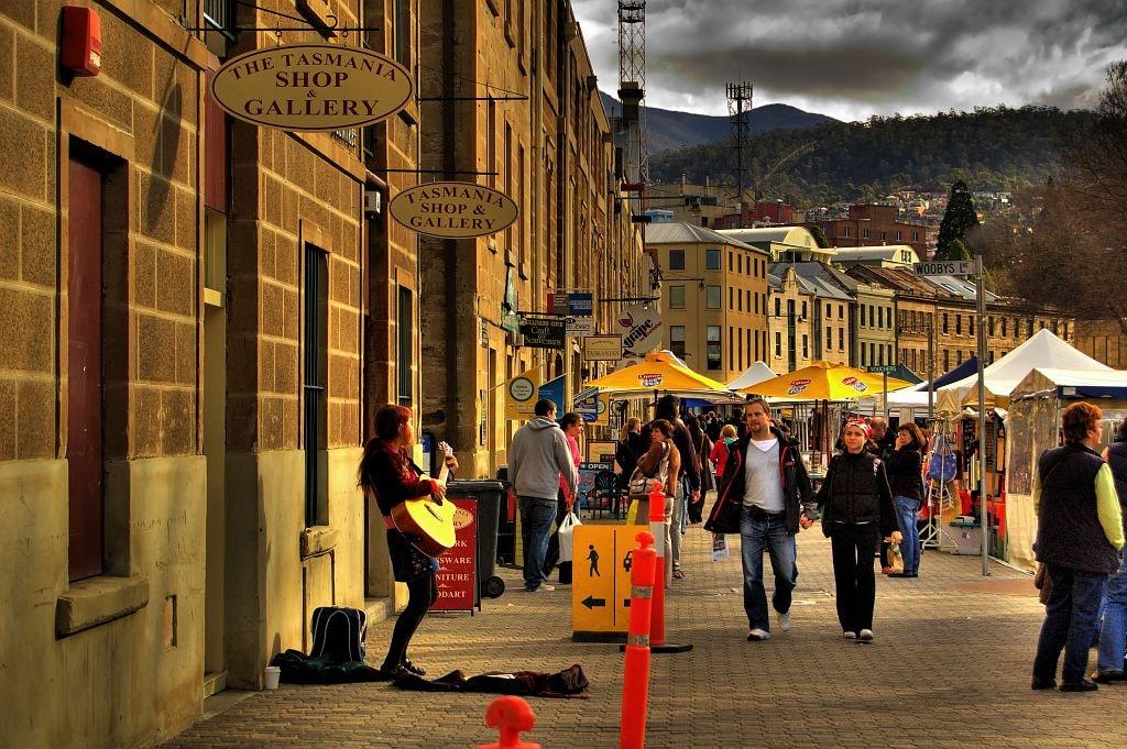 Hobart's Salamanca Market | © Jes_Wikimedia Commons