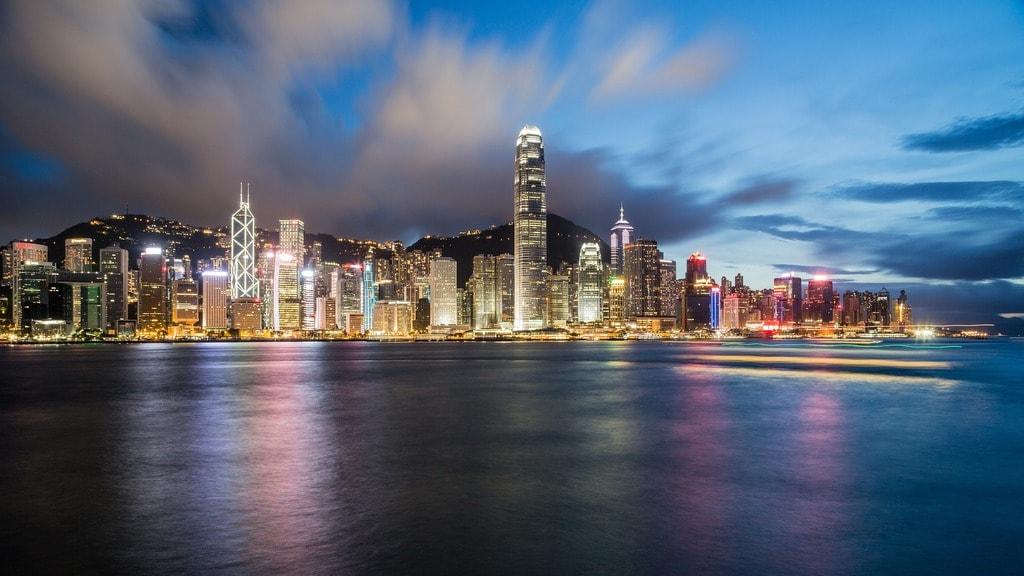 Hong Kong at night   © Pixabay