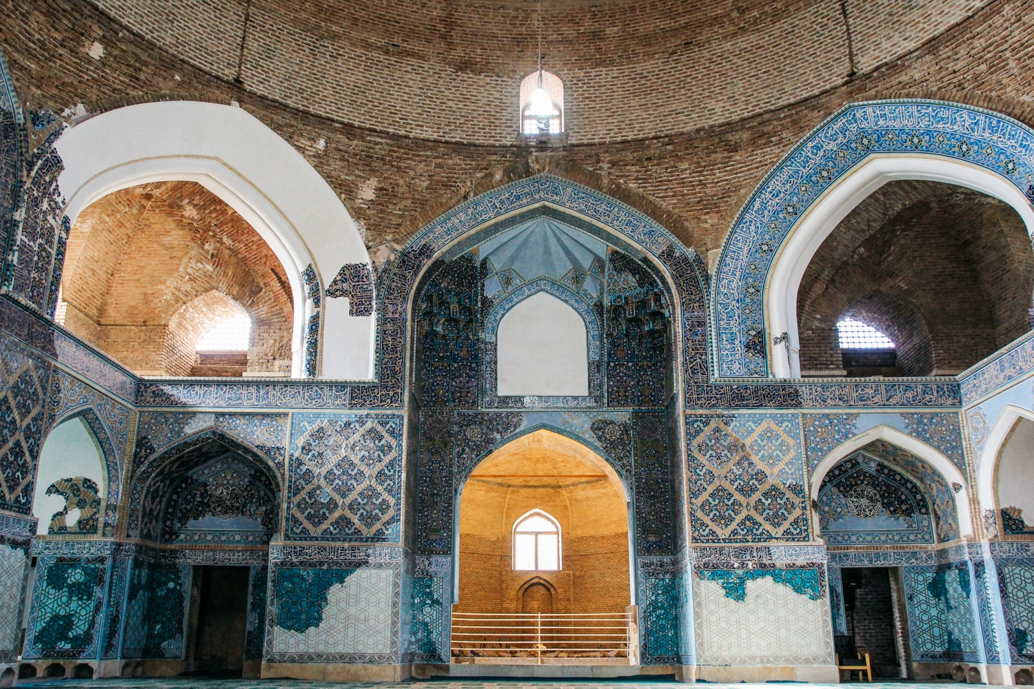 The Story Behind the Famous Blue Mosque in Iran
