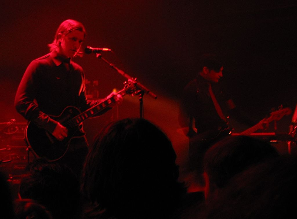 """Interpol performing at the 9""""30 Club in Washington, DC 