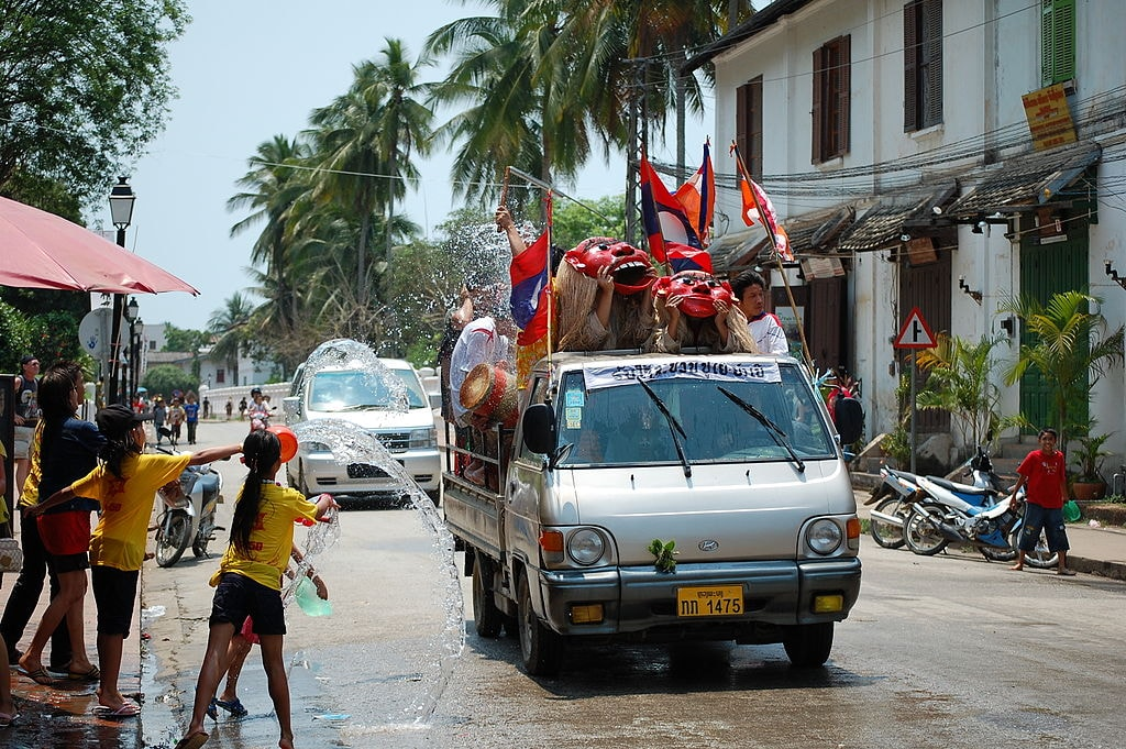 Lao New Year | © Darren On The Road/WikiCommons
